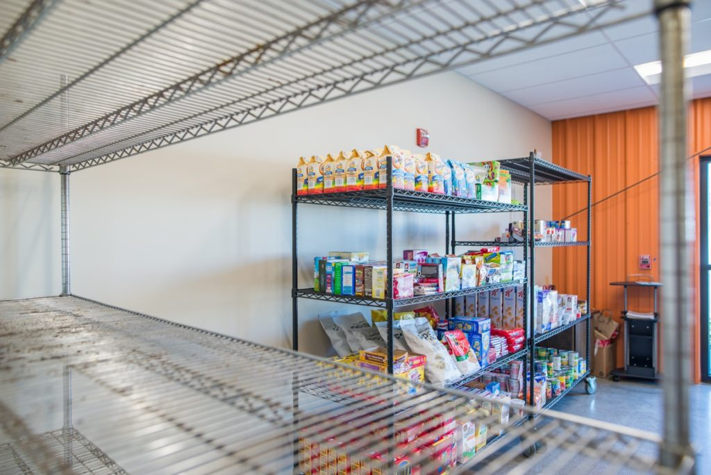 Community Food Bank of San Benito County offers and Agency Store and shelf stable foods