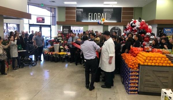 Safeway Hollister store grand re-opening celebration